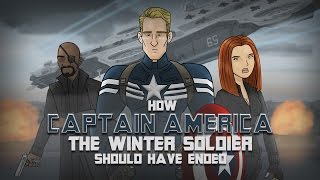 Repeat youtube video How Captain America: The Winter Soldier Should Have Ended