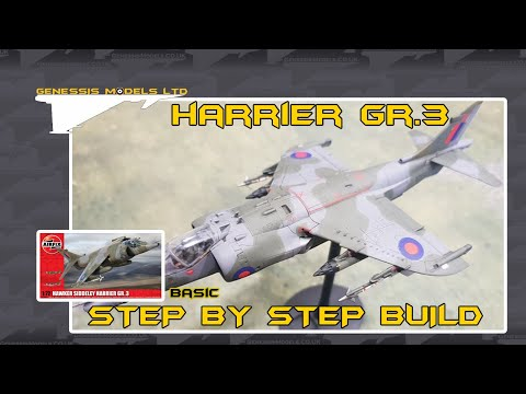 Beginners Guide To Scale Modeling : Harrier GR.3 : Step By Step Video Build : Episode.1