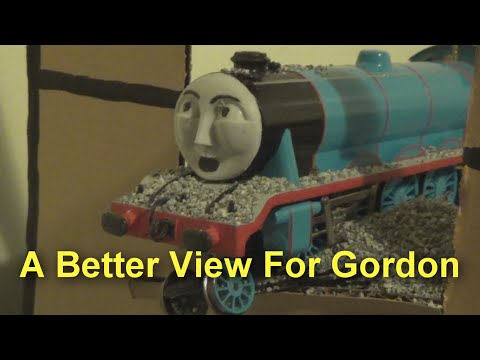 Gordon Takes A Tumble A Trainz Remake Funnydog Tv