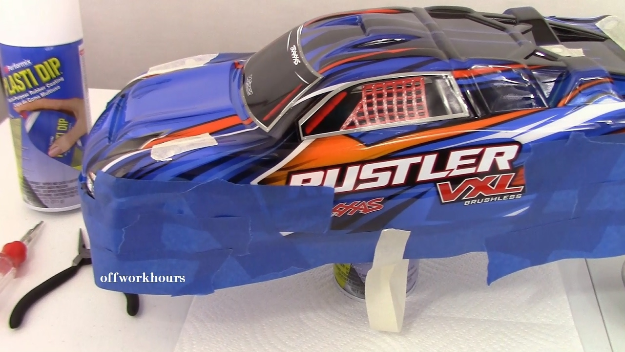 how to start a traxxas rc car