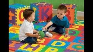 Thảm cho trẻ em   Bộ combo 10 tấm hoa quả, trái cây, số đếm, con vật, combo 26 tấm chữ cái A đến Z