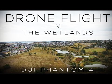 DJI Phantom 4 | Drone Flight VI | The Wetlands (4K)