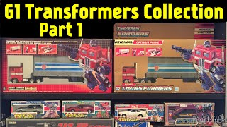 Vintage 1980's G1 Transformers Collection - Part 1 of 4 (with collector commentary)