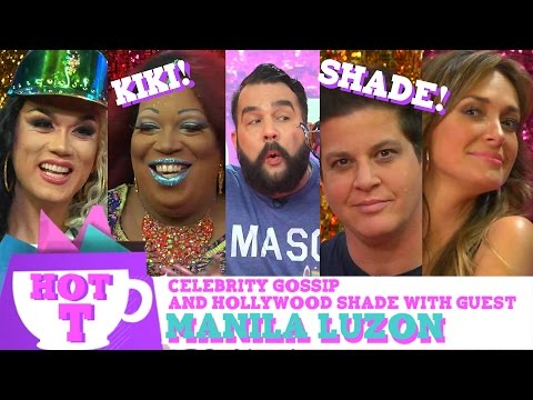 Manila Luzon on HOT T: Celebrity Gossip & Hollywood Shade Season 2 Episode 3!