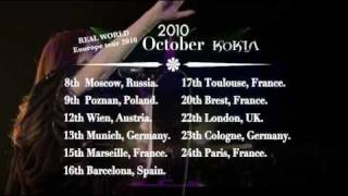 KOKIA -REAL WORLD- Eu Tour 2010 ~Video Message~ Thumbnail