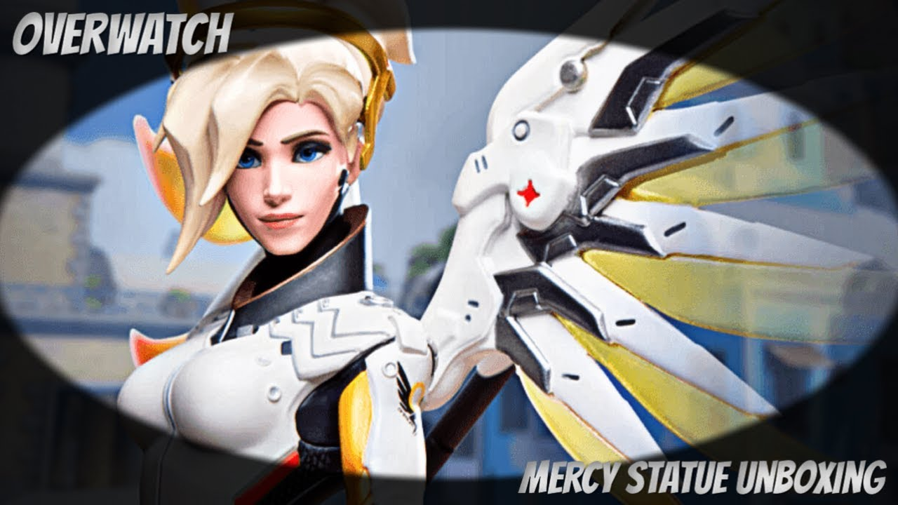 Overwatch - Mercy Statue Unboxing (Blizzard Gear Store)