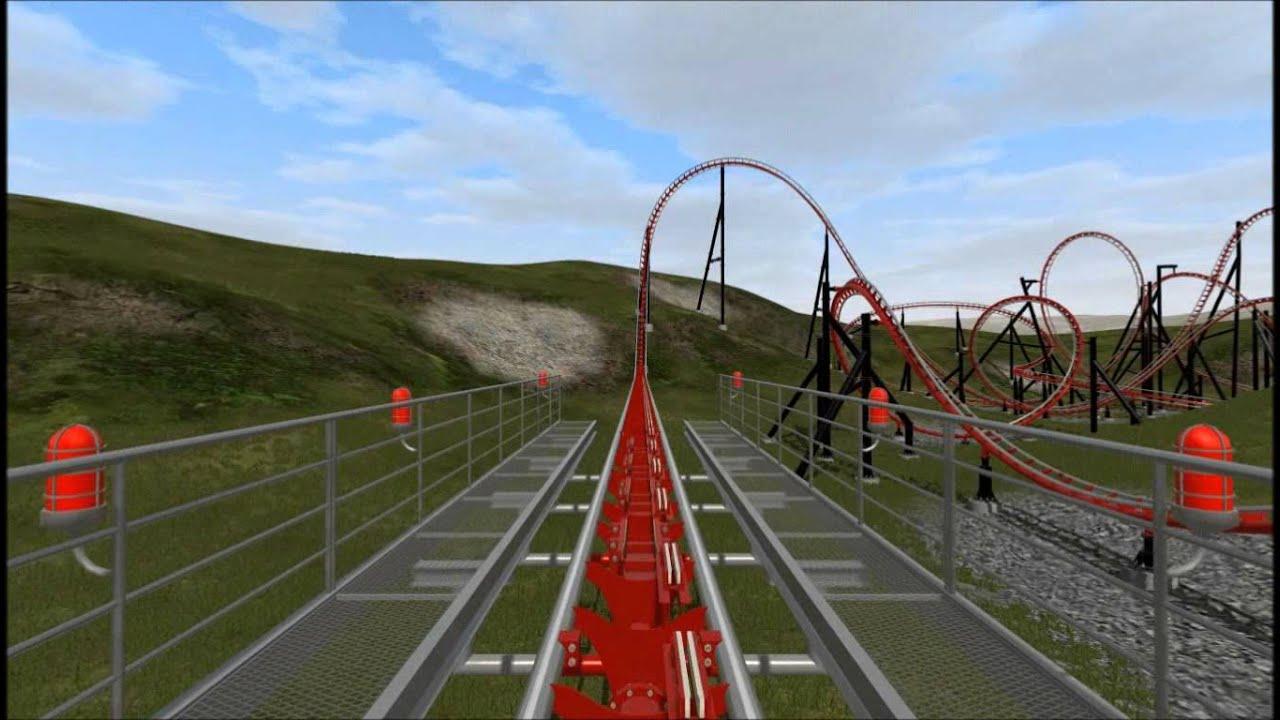 Scorpion Full Ride A Maurer Sohne X Car Coaster Nolimits 2