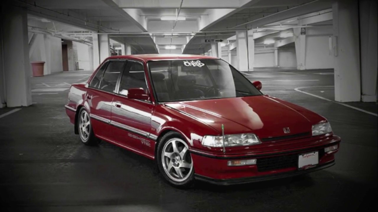 TRIBUTE: 88-91 Honda Civic Sedan (pics) - YouTube