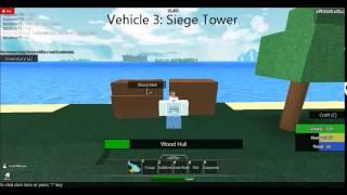 Roblox: Survival Beginnings - Crafting Vehicles