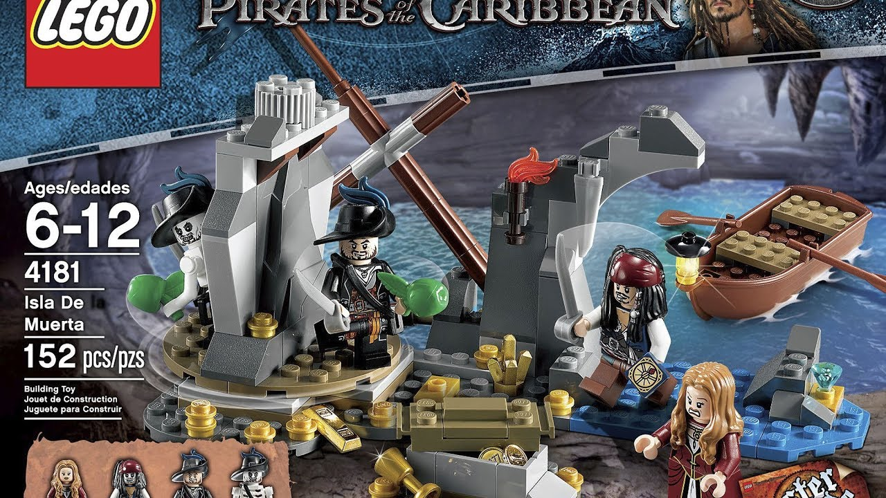 Lego SKELETON HECTOR BARBOSSA MINIFIGURE Pirates of the Caribbean 4181 minifig