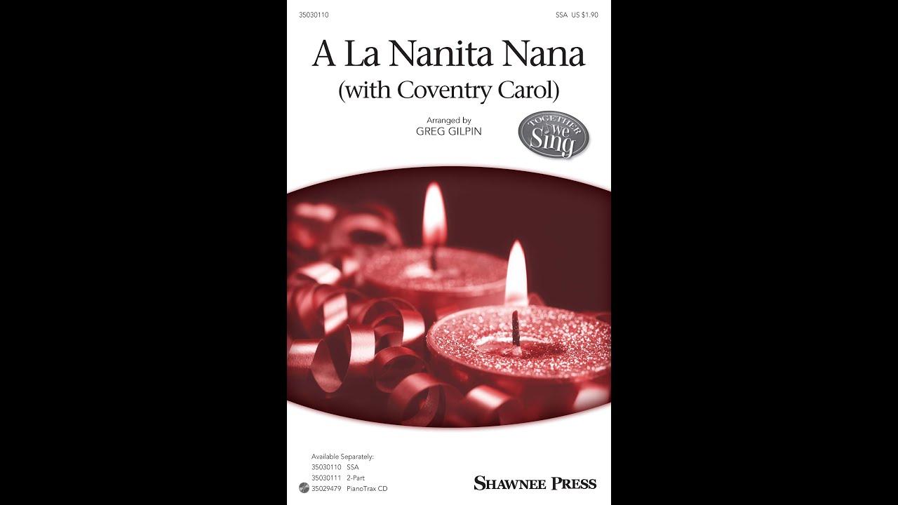 A La Nanita Nana Arranged By Greg Gilpin Chords Chordify