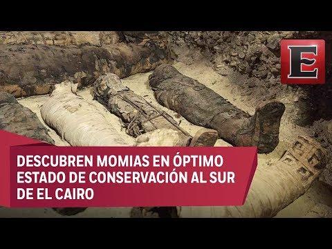 Descubren 50 nuevas momias en Egipto