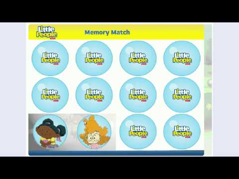 Fisher Price Little People Memory Matching Game