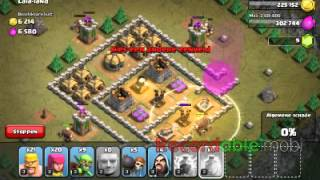 Clash of clans la la land aanvallen #1