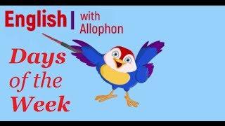 Дни недели на английском