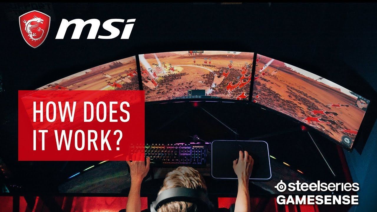 What is GameSense on the MSI Optix MPG Series? | Gaming Monitor | MSI