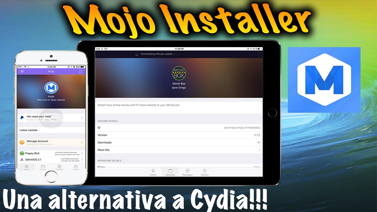 Mojo Installer Para iOS    EL NUEVO CYDIA!!!!