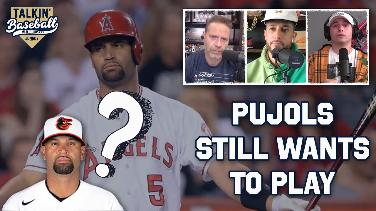 Uncomfortable discussion about Albert Pujols' future