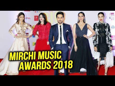 Mirchi Music Awards 2018 | Manushi Chhillar, Zaira Wasim, Urvashi Rautela, Ayushmann Khurrana