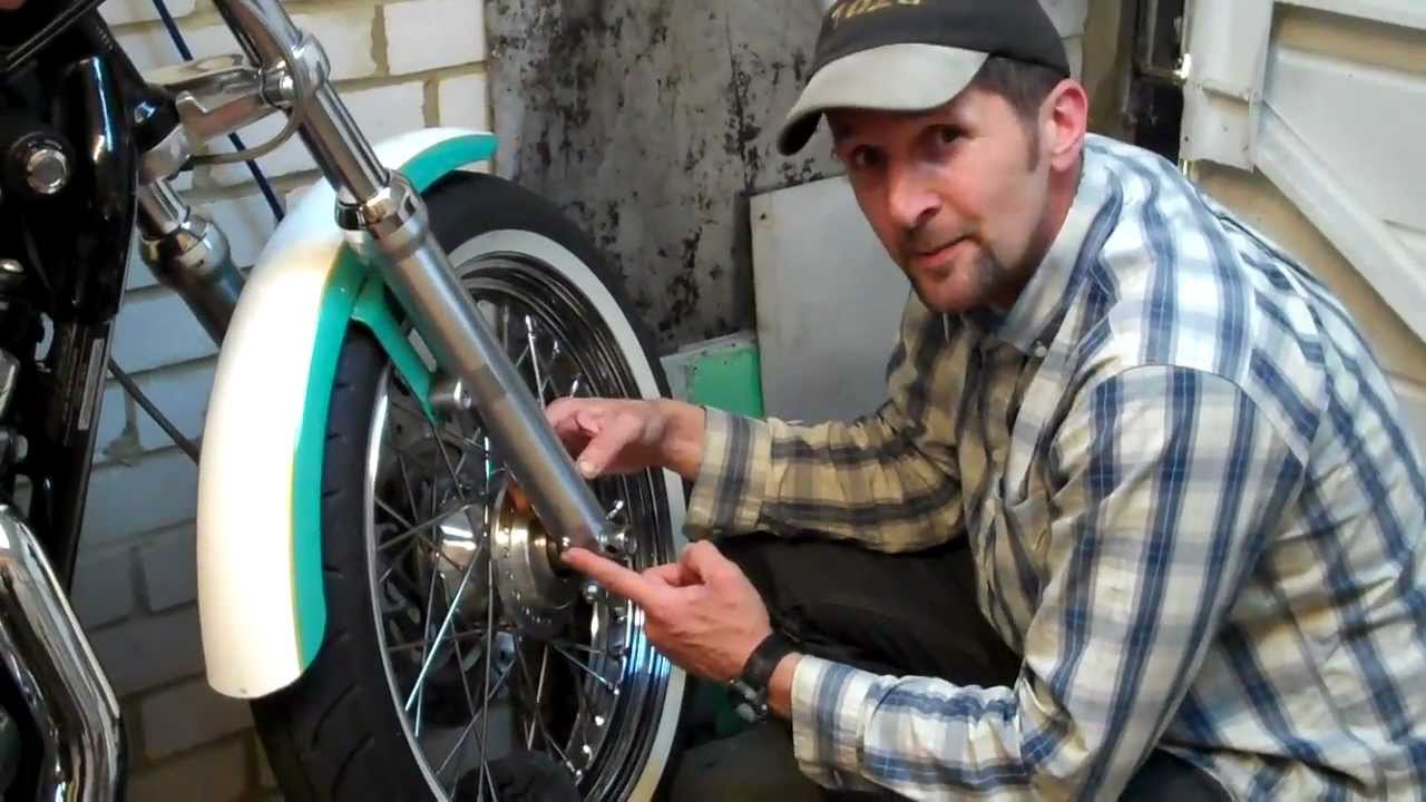 Texas Harley Davidson >> Delboy's Garage, How-To Change Harley Sportster Fork Oil. - YouTube