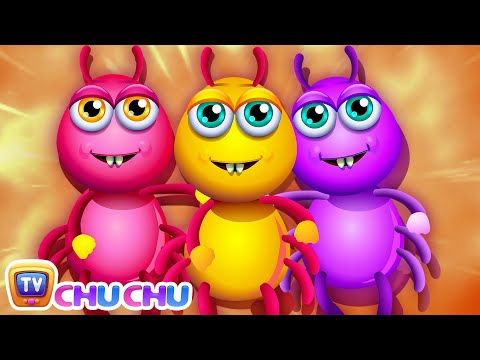Thumbnail: Incy Wincy Spider Nursery Rhyme With Lyrics - Cartoon Animation Rhymes & Songs for Children
