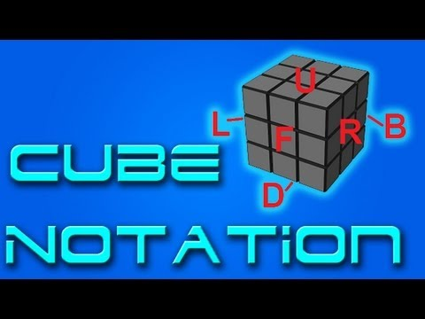 Cube Notation