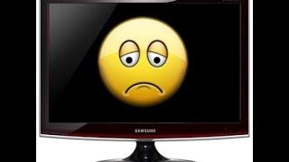 Компьютер включается: а монитор не работает Исправляем!