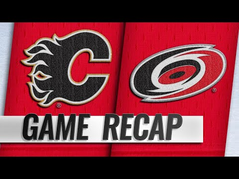 Lindholm, Ryan, Hanifin lift Flames past Hurricanes