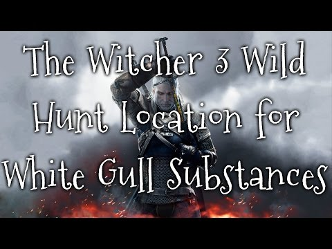The Witcher 3 Wild Hunt Location for All White Gull Substances