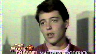 Short Interview with Mathew Broderick about Ferris Bueller's Day off (1986)
