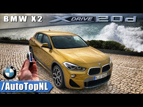 2018 BMW X2 REVIEW POV Test Drive by AutoTopNL