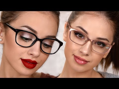 Makeup For Glasses  3 Easy Everyday Makeup Looks