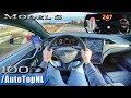2019 TESLA MODEL S 100D 247km/h AUTOBAHN POV by AutoTopNL