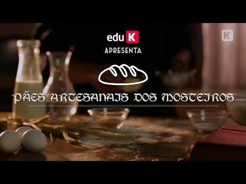 Curso de pães artesanais dos mosteiros - eduK de YouTube · Duração:  53 segundos