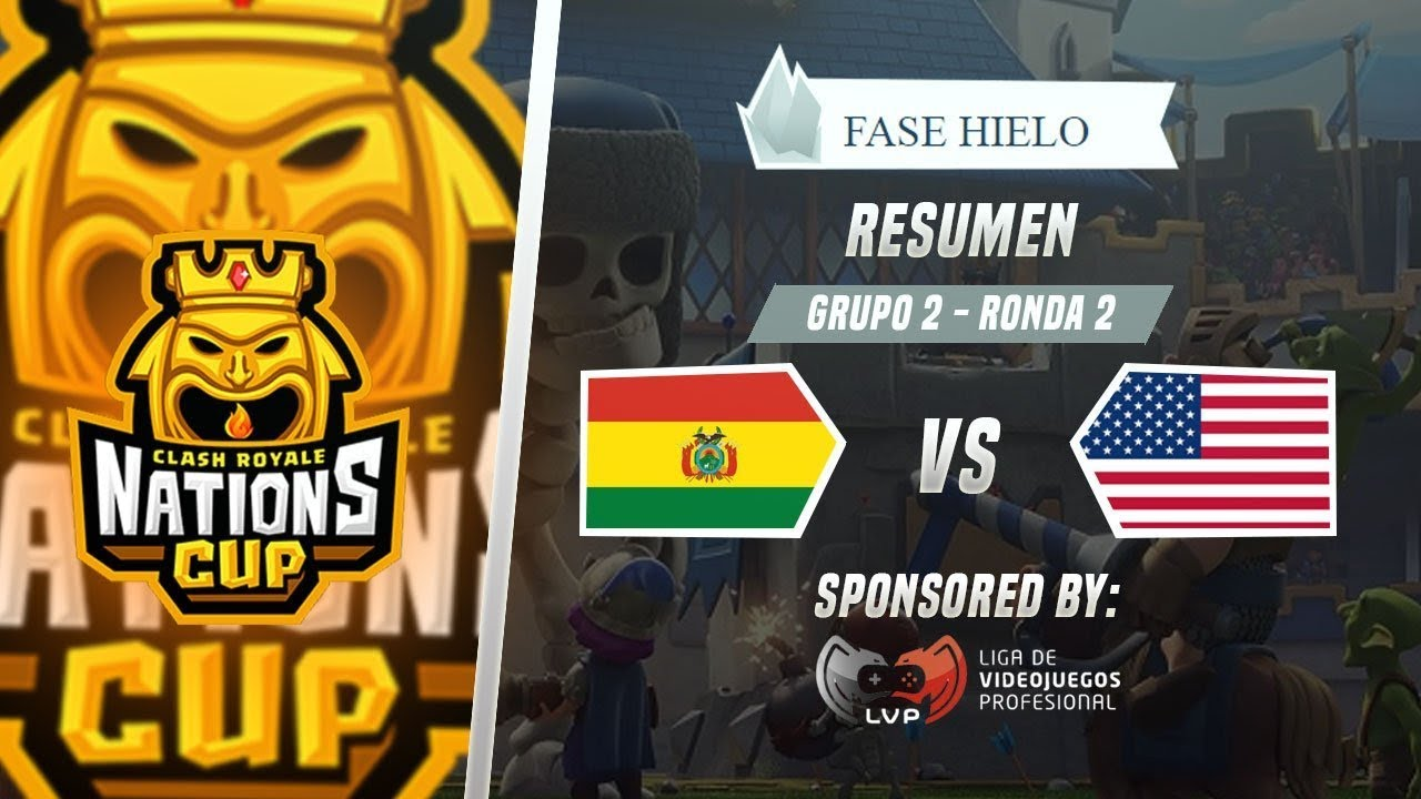 Usa Vs Bolivia Resumen Mundial De Clash Royale Cr Nations Cup