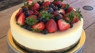 CLASSIC NEW YORK CHEESECAKE | Bánh Cheesecake New York | The Sweetest Things