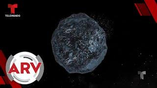 Alertan de inminente choque de asteroide con la Tierra y cuándo sería | Al Rojo Vivo | Telemundo