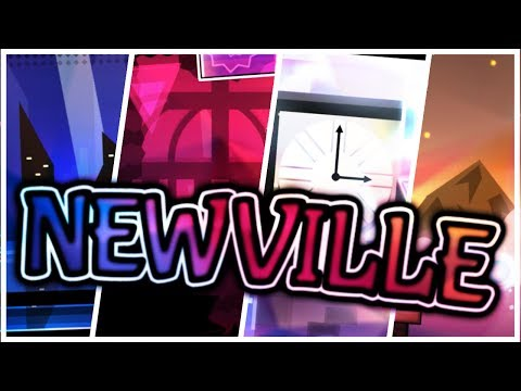 "NewVille (Epic Medium Demon) by NRG — ""Geometry Dash"""