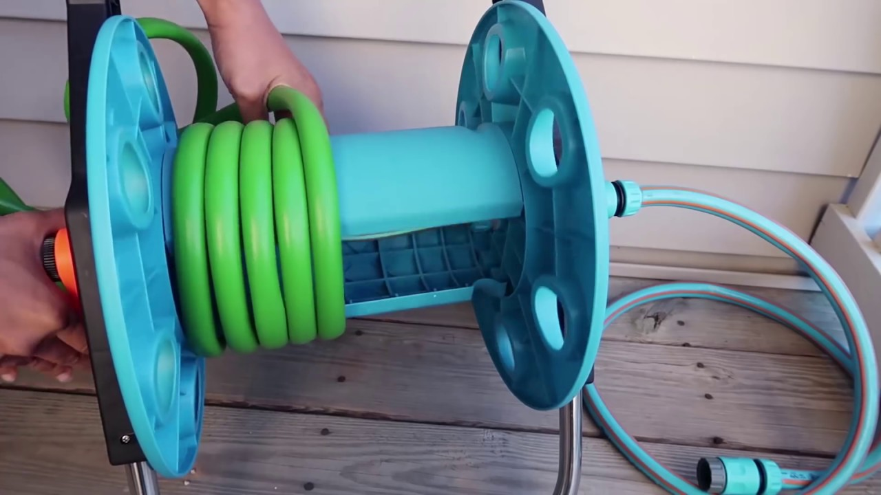 How to Set up Hose Reel Cart