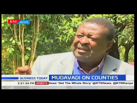 Business Today 13th November 2017- NASA Principal Musalia Mudavadi wants government to release fund