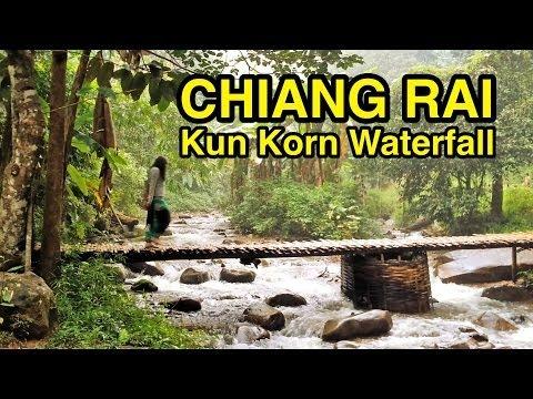 #19 Chiang Rai   Kun Korn Waterfall