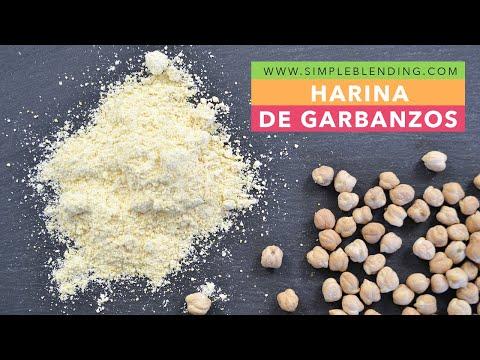 Cómo preparar harina de garbanzos en casa | Con garbanzos secos | Método casero