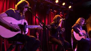The Magpie Salute (acoustic) Send Me An Omen Oslo Hackney London 10 08 2018