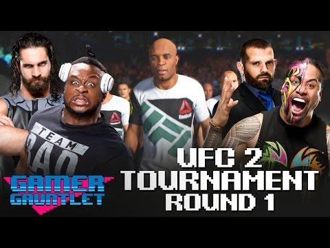 Seth Rollins vs. Big E & Jamie Noble vs. Jimmy Uso: UFC 2 Tournament Round 1 — Gamer Gauntlet
