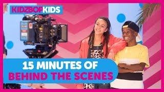 KIDZ BOP Kids - 15 Minutes Behind The Scenes - Symphony, Nothing Holdin' Me Back and More