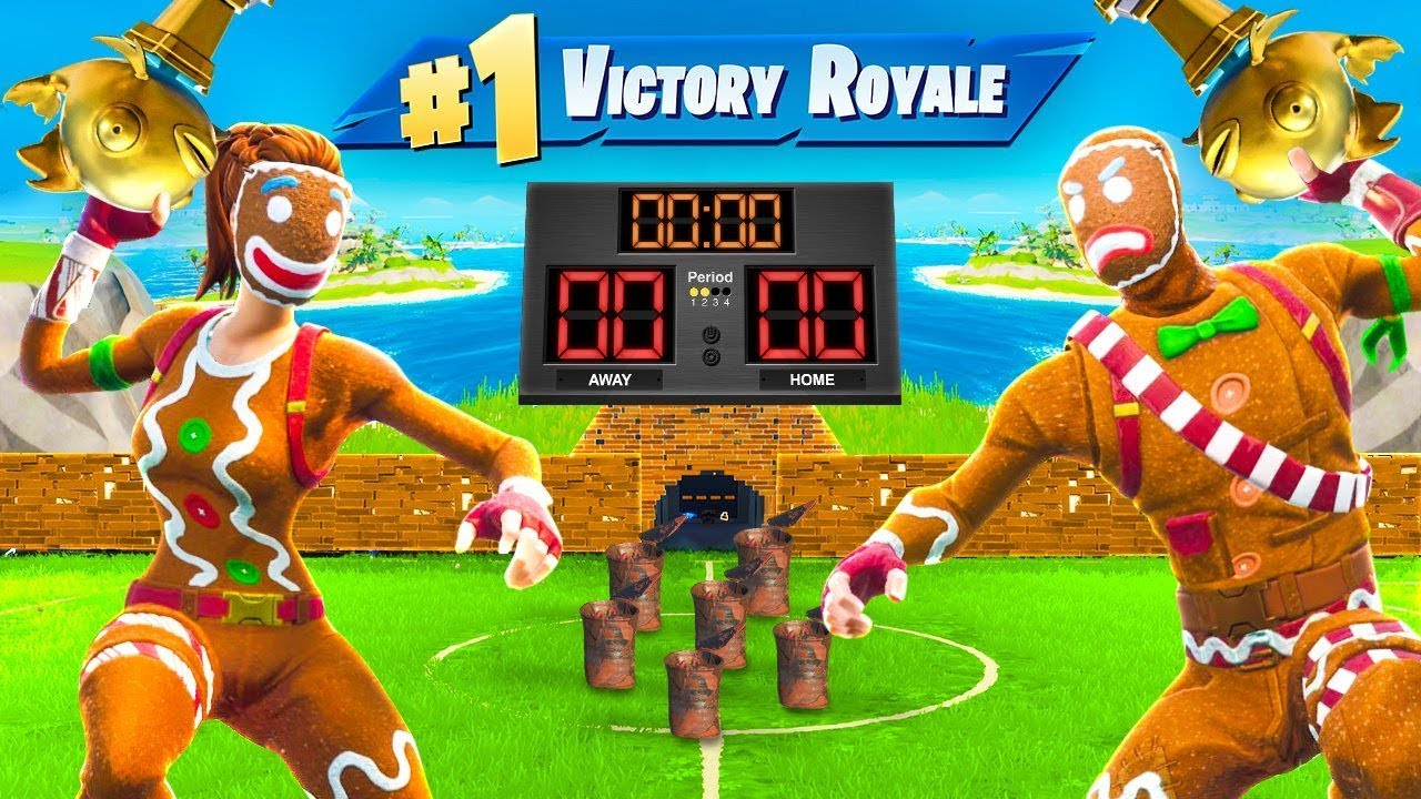 *NEW* GOLDFISH DODGEBALL Custom Gamemode In Fortnite!