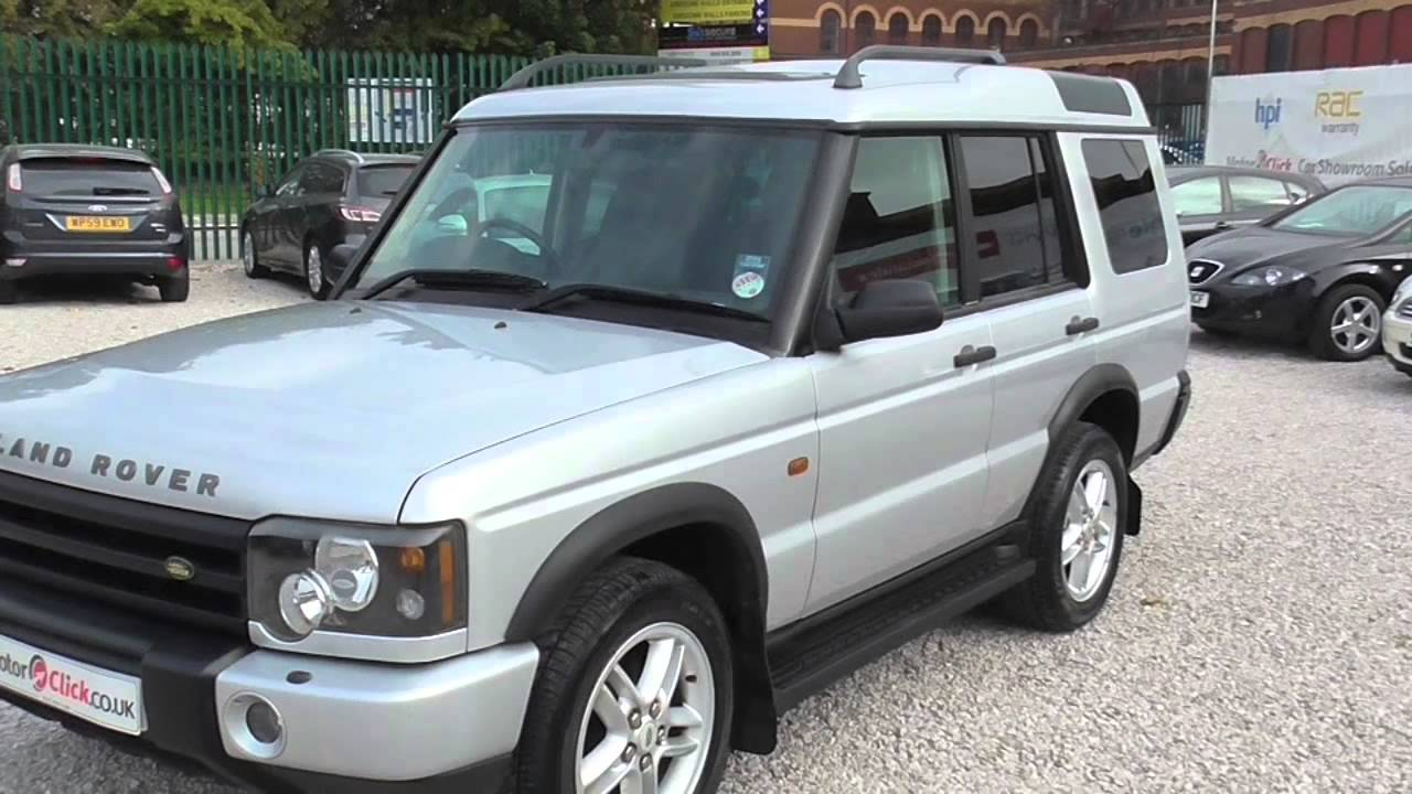 used land rover discovery td5 landmark for sale stockport manchester youtube. Black Bedroom Furniture Sets. Home Design Ideas