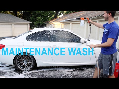 MAINTENANCE CAR WASH: The Best Ways to Avoid Scratching Your Paint!