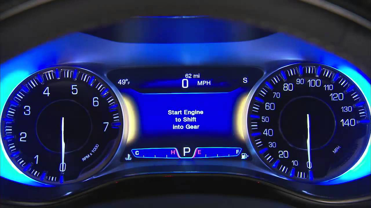 2016 Chrysler 200 | Light Control, Dimmer Control And Fog ...