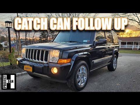 JEEP COMMANDER 5.7 HEMI PCV VALVE REPLACEMENT AND CATCH CAN FOLLOW UP